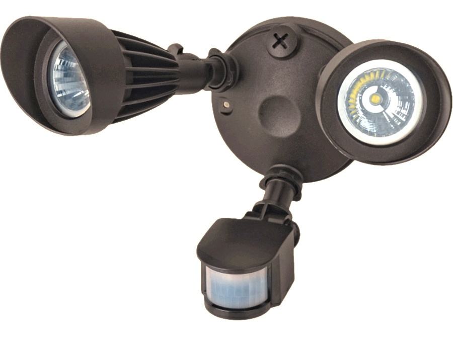 Double head security lights with sensor eco energy management 2 head security lights with sensor aloadofball Choice Image