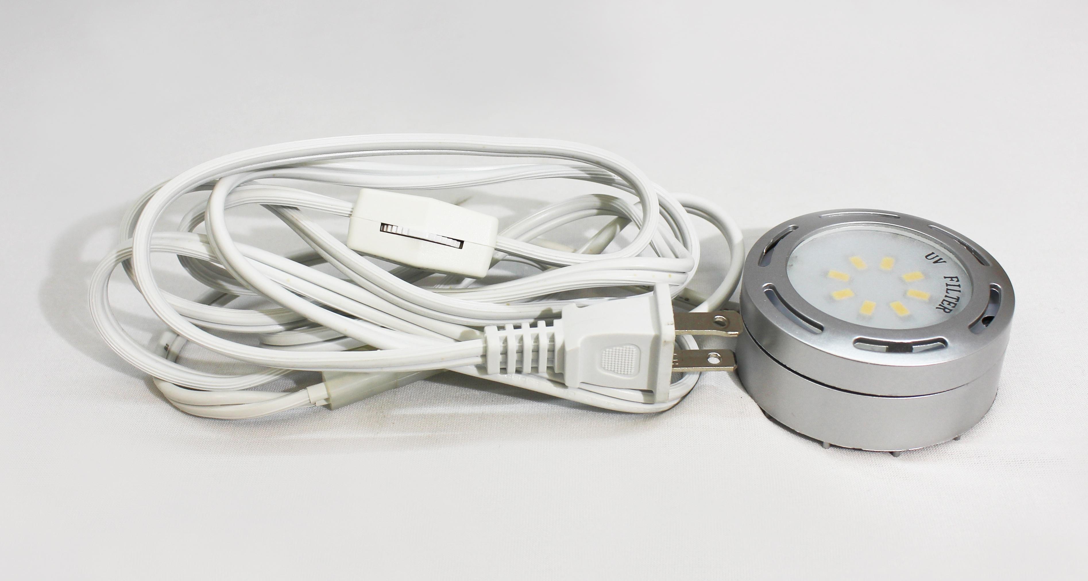 120 Volt Led Puck Lights 3 Pk Eco Energy Management